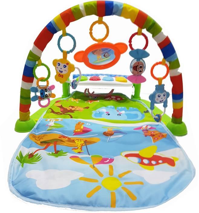 Goodstart Multi Purpose Piano Baby Gym With Crib Mat Multi Purpose