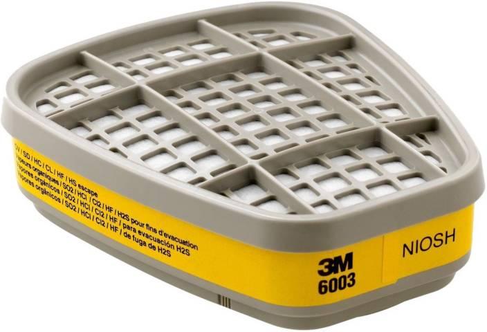 3M Organic Vapor/Acid Gas Cartridge for Respiratory Protection (Pack of 1) Mask and Respirator