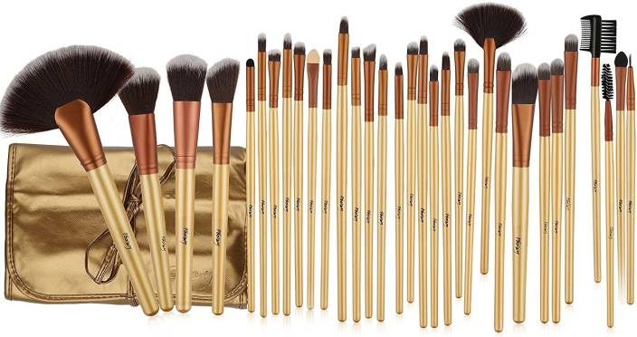 Foolzy Makeup Brush Set, 32 Pieces Professional Makeup Brushes Essential Cosmetics With Case, Face. ADD TO CART