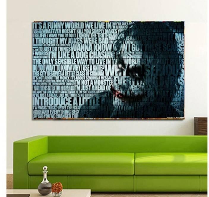 Joker Poster Wallpaper Wall Art Home Decor Living Room Or