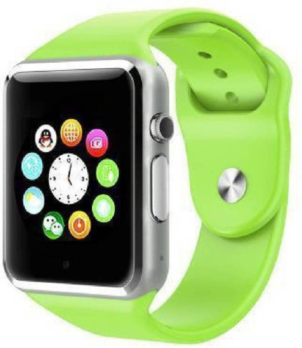 Stark A7 Bluetooth Mobile (SD card with Sim card) watch for Kids & Unisex Green Smartwatch