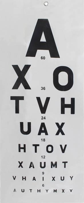Mcp 01 Vision Test Chart Price In India Buy Mcp 01 Vision Test