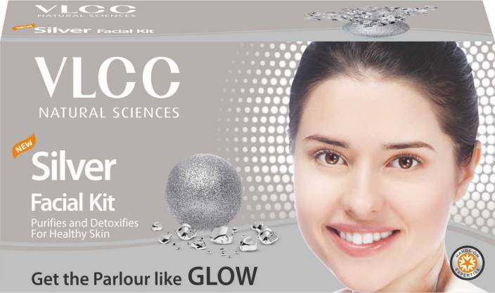 VLCC Silver Facial Kit 60 g  (Set of 6)