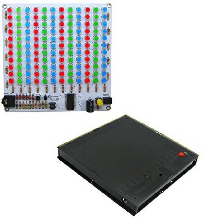 Generic Icstation 12X11 Color Led Music Audio Spectrum Analyzer