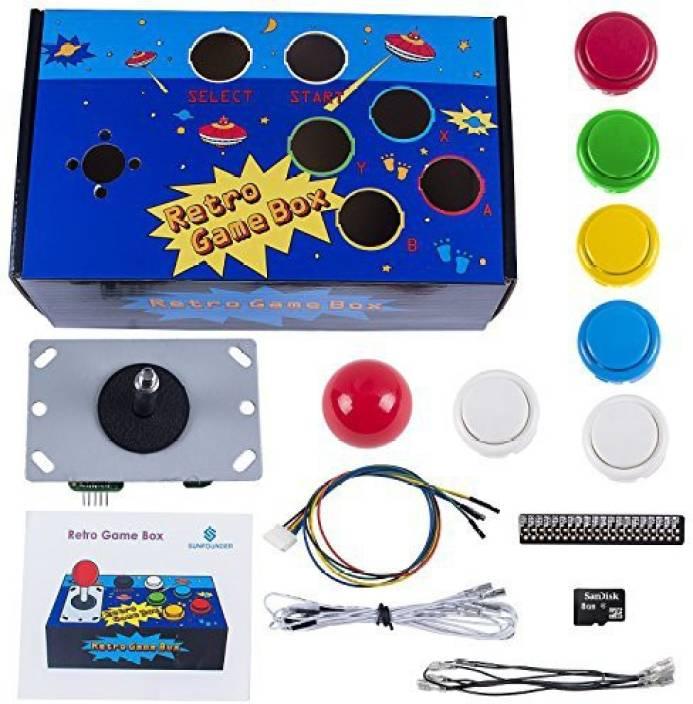 SunFounder Raspberry Pi Retro Game Box Diy Arcade Fighting