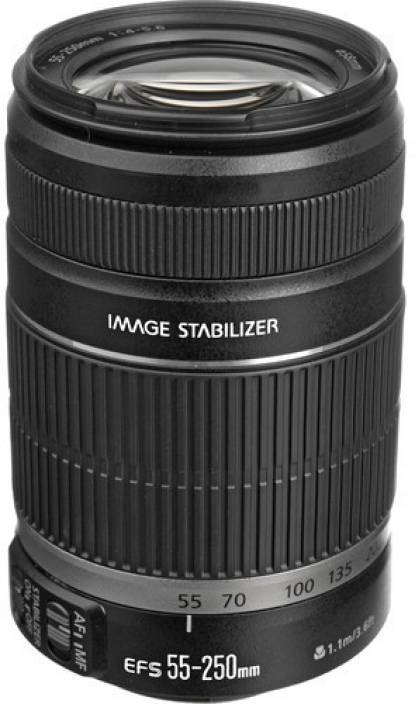 Canon EF-S 55 - 250 mm f/4-5 6 IS II Lens