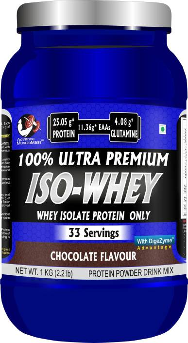 31287c09d Advance MuscleMass 100% ultra premium Iso whey Whey Isolate (Raw Whey  Isolate Imported from USA) ...