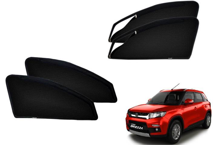 Auto Hub Side Window Sun Shade For Maruti Suzuki Vitara Brezza Price