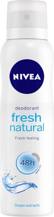 Nivea Fresh Natural Deodorant Spray  -  For Women