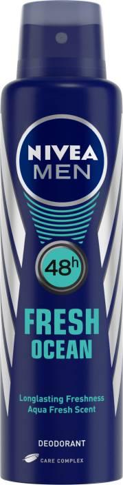 Nivea Men Fresh Ocean Deodorant Spray  -  For Men