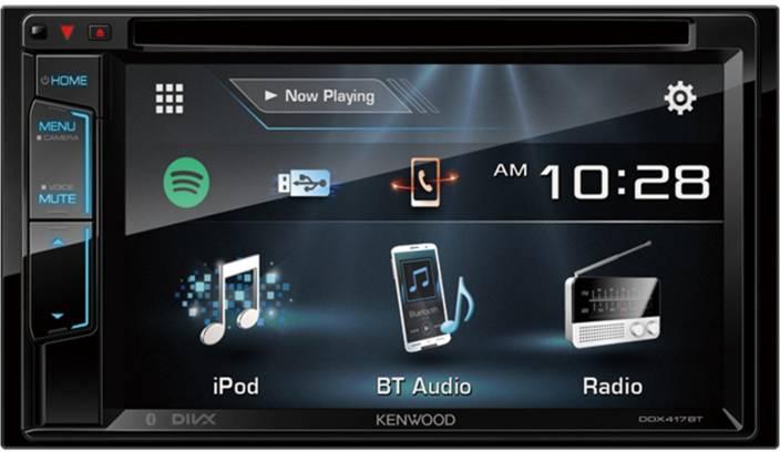 KENWOOD DDX 417BT Car Stereo Price in India - Buy KENWOOD