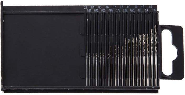 HSS Micro Drill Bits 20 piece multi pack 0.3-1.6mm