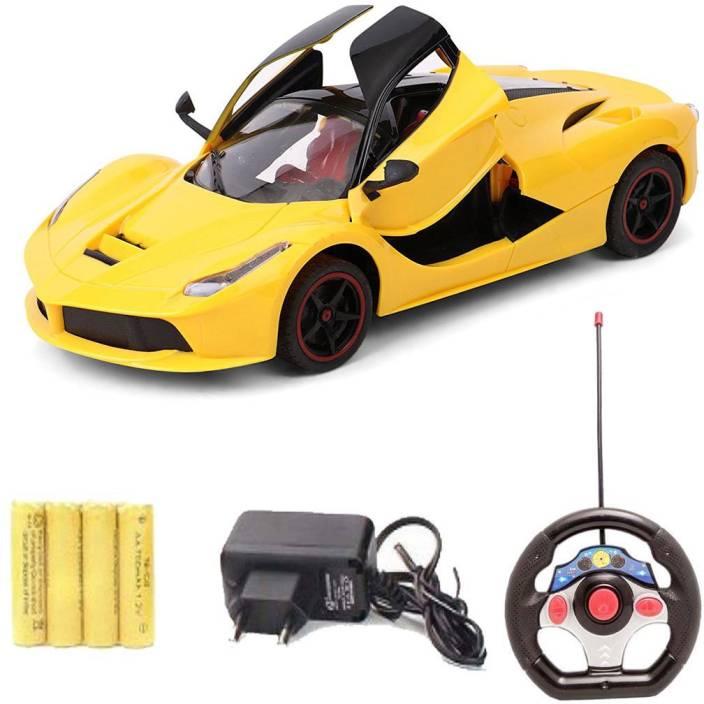 Akshat fast & furious yellow ferrari remote control car