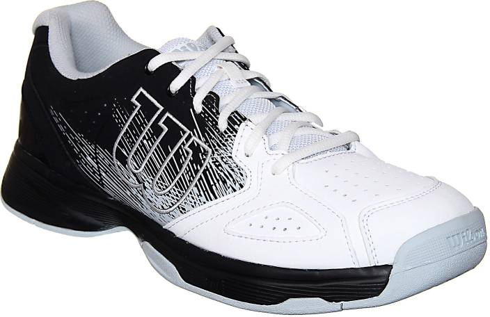 huge selection of b5848 84d6d Wilson Kaos Stroke Tennis Shoes For Men (Black, White)