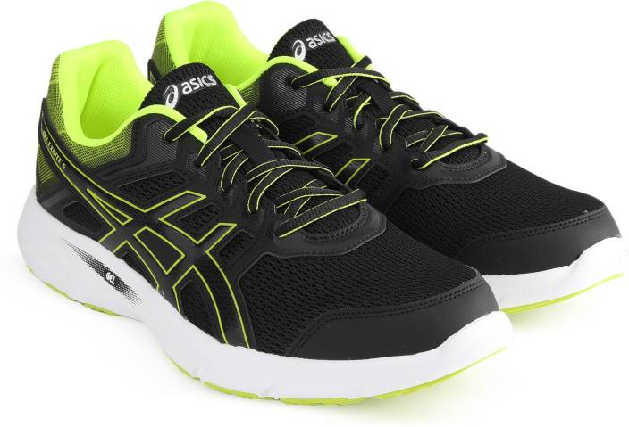 6523a0c762 Asics GEL-EXCITE 5 Running Shoes For Men - Buy BLACK SAFETY YELLOW ...