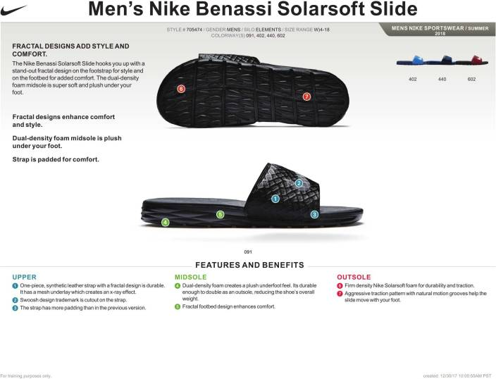 84a19478fe33 Nike BENASSI SOLARSOFT Slippers - Buy BLACK ANTHRACITE Color Nike BENASSI  SOLARSOFT Slippers Online at Best Price - Shop Online for Footwears in  India ...