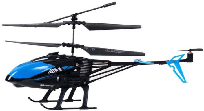 Montez 3 5 CH RC Helicopter With Gyroscope Stability -Blue