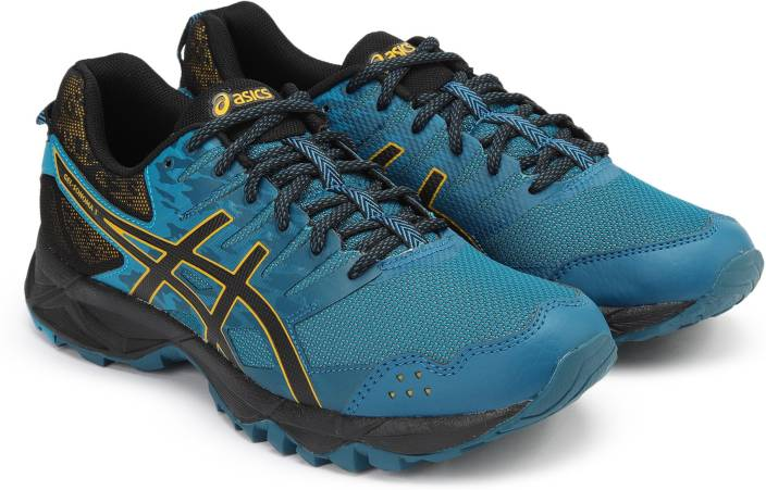 e210d62a2a4b Asics GEL-SONOMA 3 Running Shoes For Men - Buy INK BLUE BLACK LEMON ...