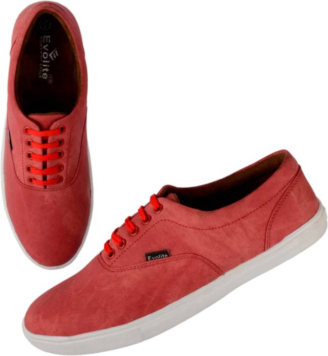 Evolite Sneakers Red Casual Shoes