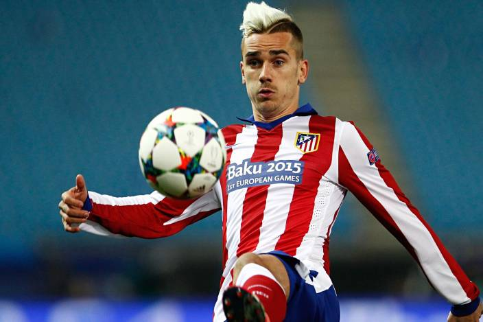 Sports Poster For Walls Antoine Griezmann Football Player