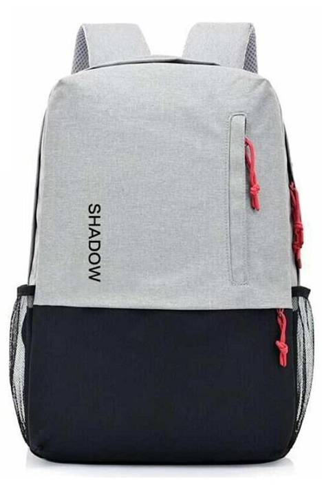 25911a221163 Shadow Securitronics Anti Theft Bag 12 L Backpack Grey And Black ...