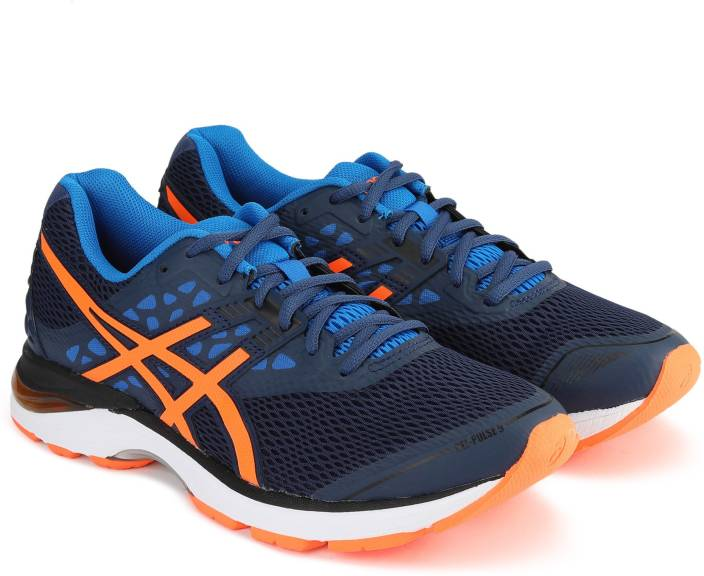 1c623126aa0f Asics GEL-PULSE 9 Running Shoes For Men - Buy DARK BLUE SHOCKING ...
