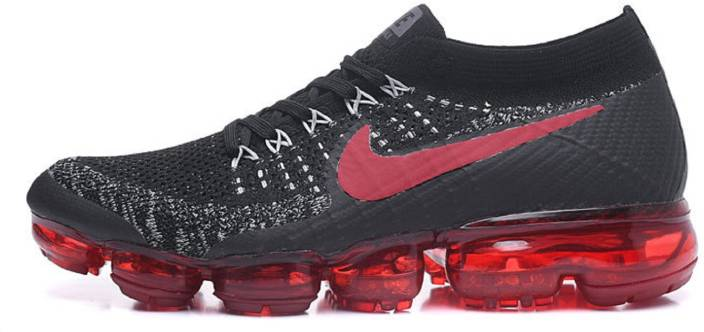 dbd7f20af0 Nike Air Vapormax Black Red Running Shoes For Men - Buy Nike Air ...