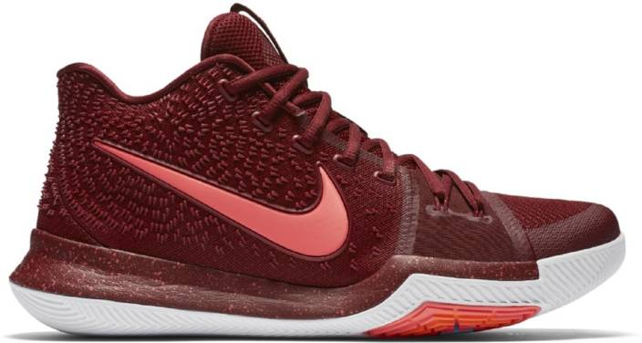promo code 09725 32f0f Nike Shoes Kyrie 3 Maroon Basketball Shoes For Men - Buy ...