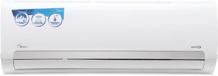 Midea 1 5 Ton 3 Star BEE Rating 2018 Inverter AC - White
