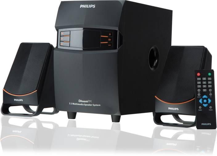 Philips IN-MMS2550F/94 55 W Portable Laptop/Desktop Speaker