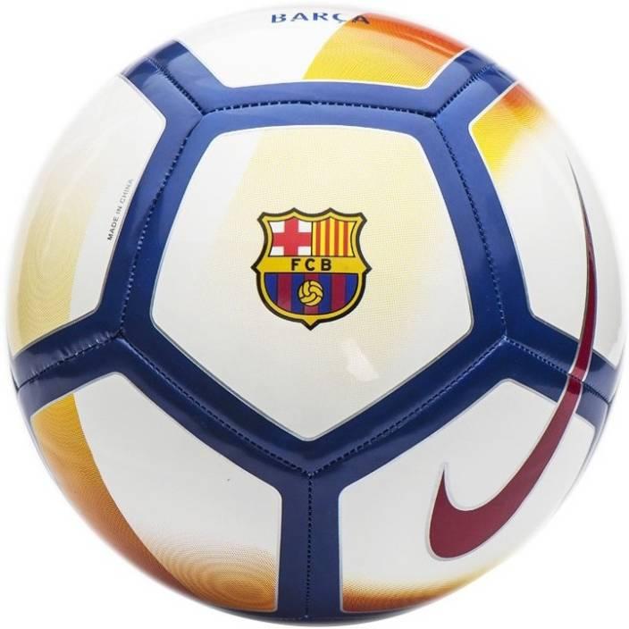 Nike FCB Barcelona Pitch Football - Size  5 - Buy Nike FCB Barcelona ... 26718067ae4