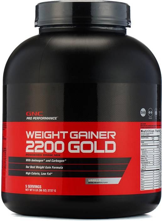 Gnc Weight Gainer 2200 Powder Vanilla Weight Gainers Mass Gainers