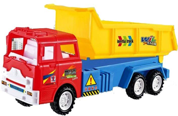 Emob Classic Large Vehicle Construction Dump Truck Toy for
