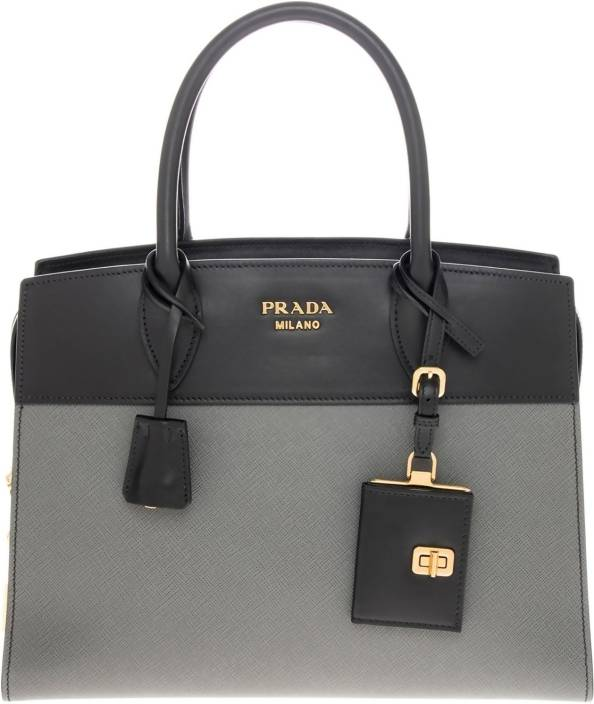697044e880e8 Buy Prada Tote Black, Grey Online @ Best Price in India | Flipkart.com