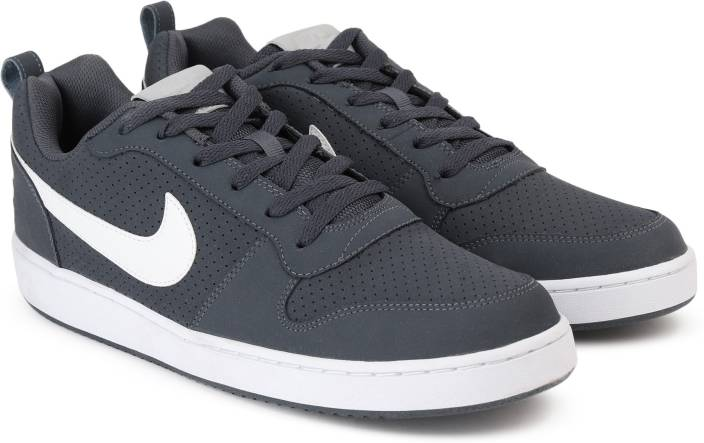 finest selection f2370 ab5ea Nike COURT BOROUGH LOW Sneakers For Men (Blue)