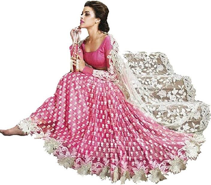 67d6bc7cafe Buy Nirjas Designer Embroidered Fashion Georgette