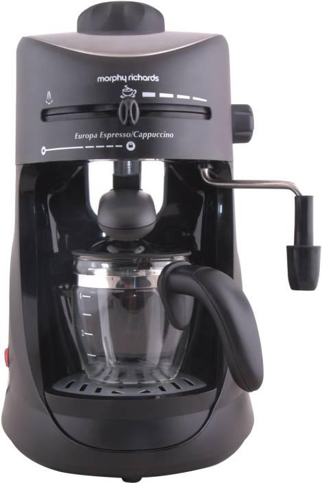 Morphy Richards Europa Espresso Cuccino 4 Cups Coffee Maker
