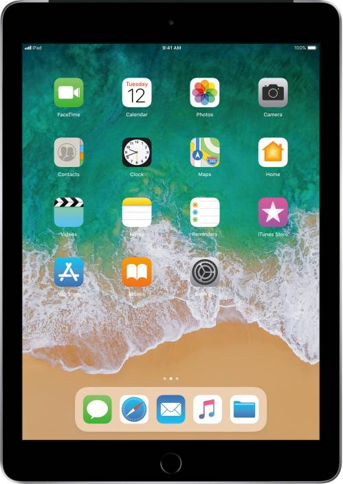 Apple iPad (6th Gen) 128 GB 9.7 inch with Wi-Fi+4G
