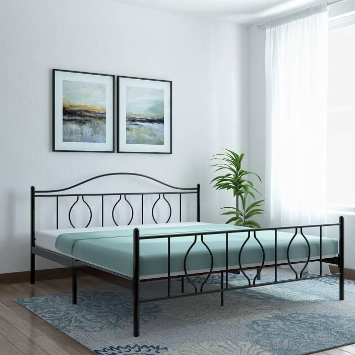 FurnitureKraft Baia Mare Metal King Bed