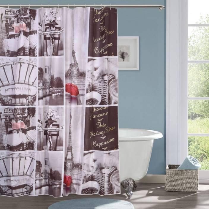 7 foot shower curtain. Natraj PVC Shower Curtain 210 Cm  7 Ft Single Buy
