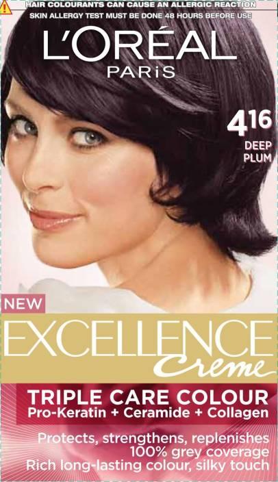 L'Oreal Paris Excellence Cream Hair Color