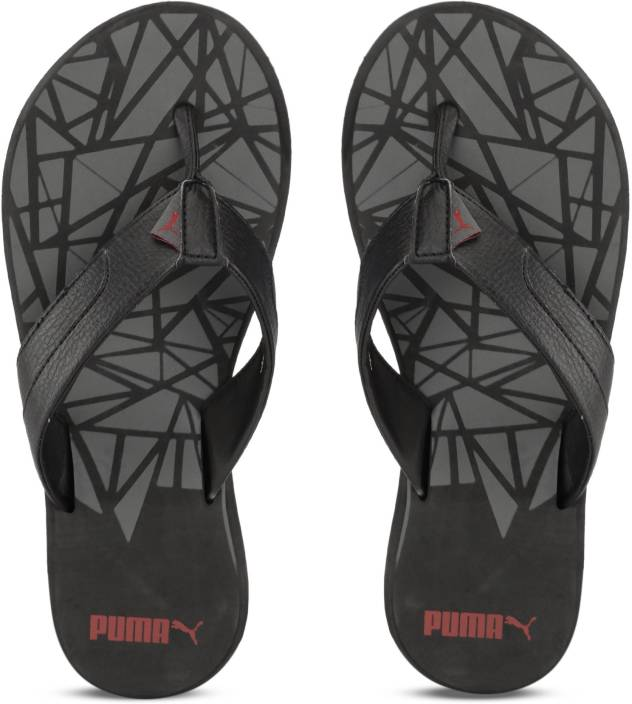 dfd7d3f6ac4e Puma Wrens GU IDP Slippers - Buy Puma Black-Castor Gray-Flame Scarlet Color  Puma Wrens GU IDP Slippers Online at Best Price - Shop Online for Footwears  in ...