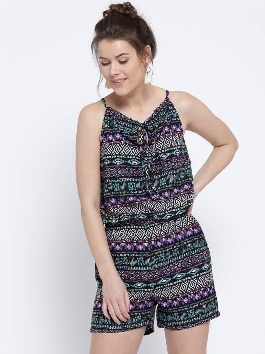 4858b8f9416 Sera Printed Women Jumpsuit - Buy Sera Printed Women Jumpsuit Online at  Best Prices in India