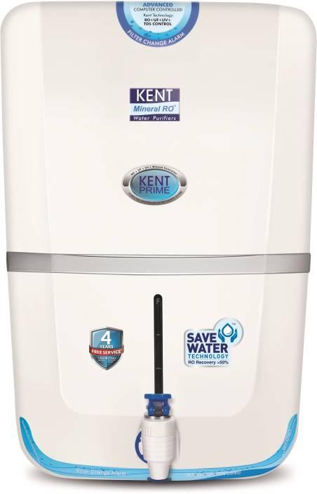 Kent PRIME (11028) 9 L RO + UV +UF Water Purifier