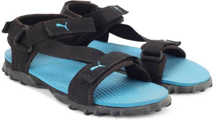 03c2072f8f71cc Puma Men black-blue atoll Sports Sandals - Buy black-blue atoll Color Puma  Men black-blue atoll Sports Sandals Online at Best Price - Shop Online for  ...