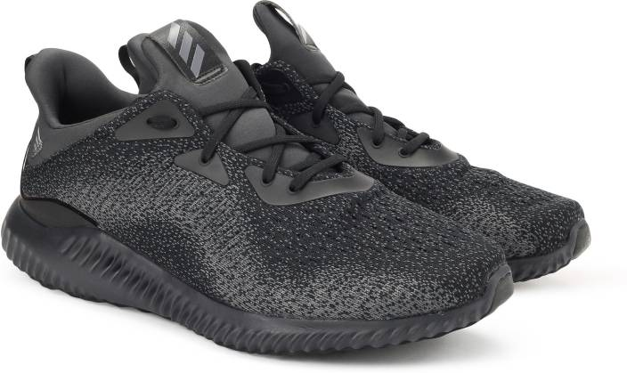 b31aeb4fd ADIDAS ALPHABOUNCE EM M Running Shoes For Men - Buy CBLACK NGTMET ...