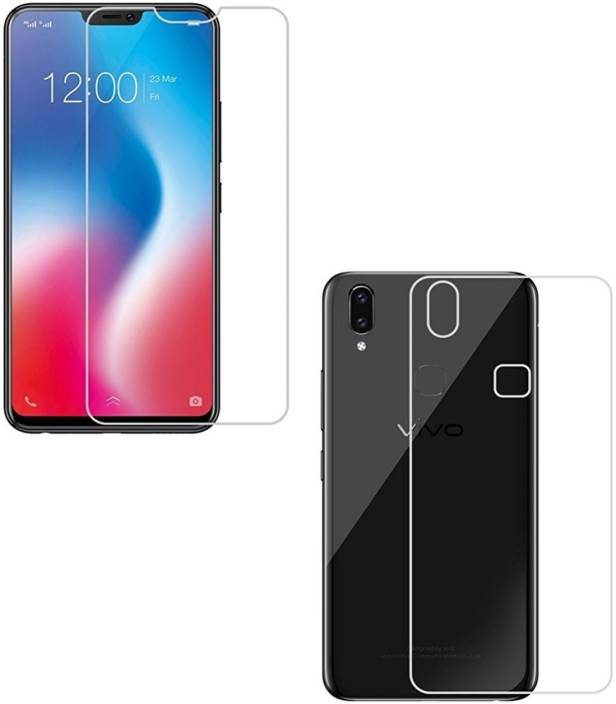 quality design 86243 f1700 GS SMART Front and Back Tempered Glass for Vivo V9