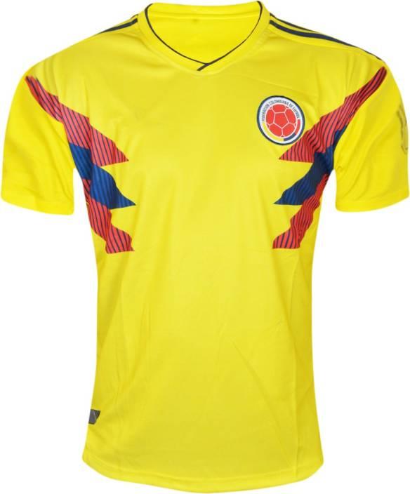 2ce1596a1e4 Roy Sports Printed Men's V-neck Yellow T-Shirt - Buy Roy Sports ...