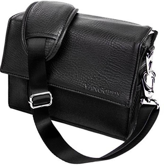 Vangoddy Black Polaroid Xs100I Waterproof Sports Action Video Camera Accessories Case Camcorder Bag - PT_CAMLEA202_PolXS100 Camera Bag