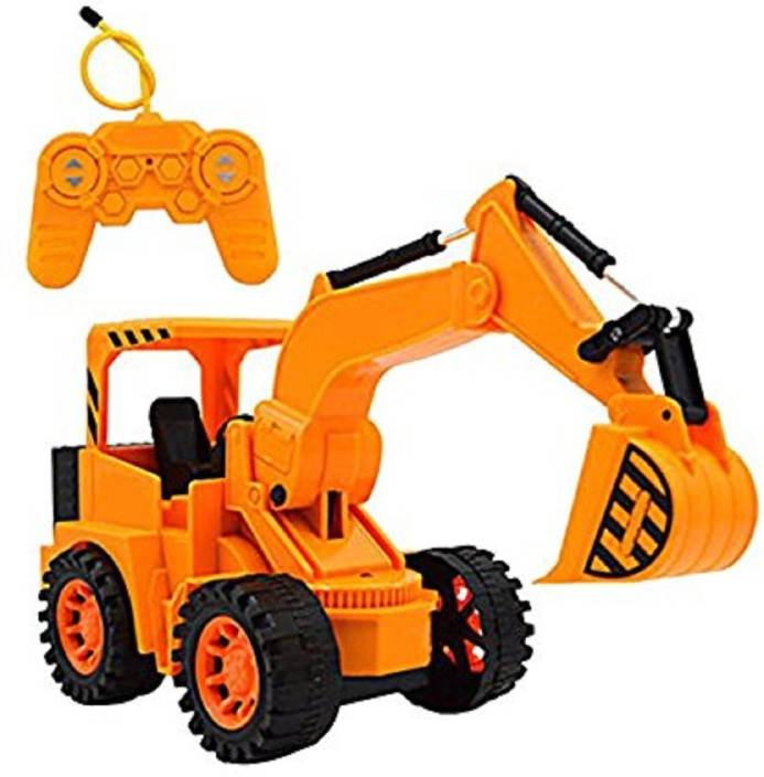 Indusbay Rechargeable Remote Control Jcb Toy R C Excavator Super